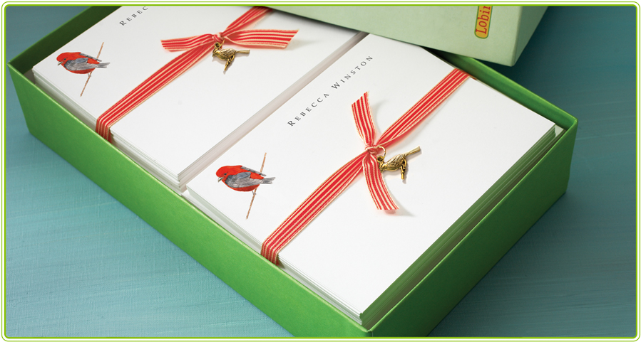 personalized notes gift box