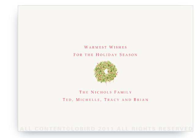Text For Holiday Cards