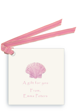 Pink Scallop Shell