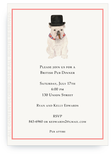 invite English Bulldog