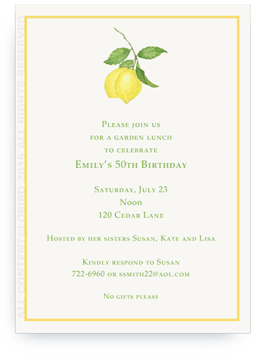 Lemon Branch Invite